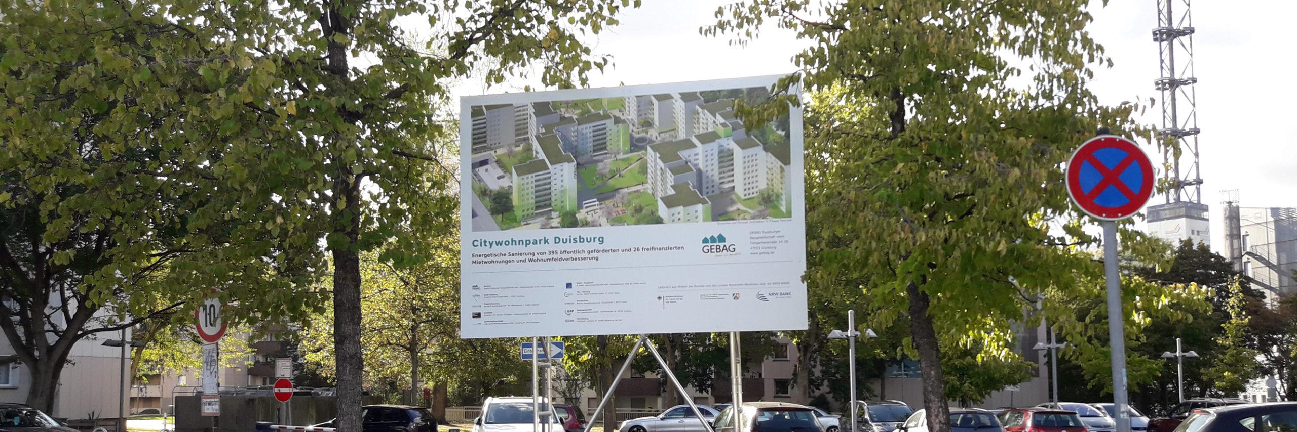 Citywohnpark – das Bauschild steht!