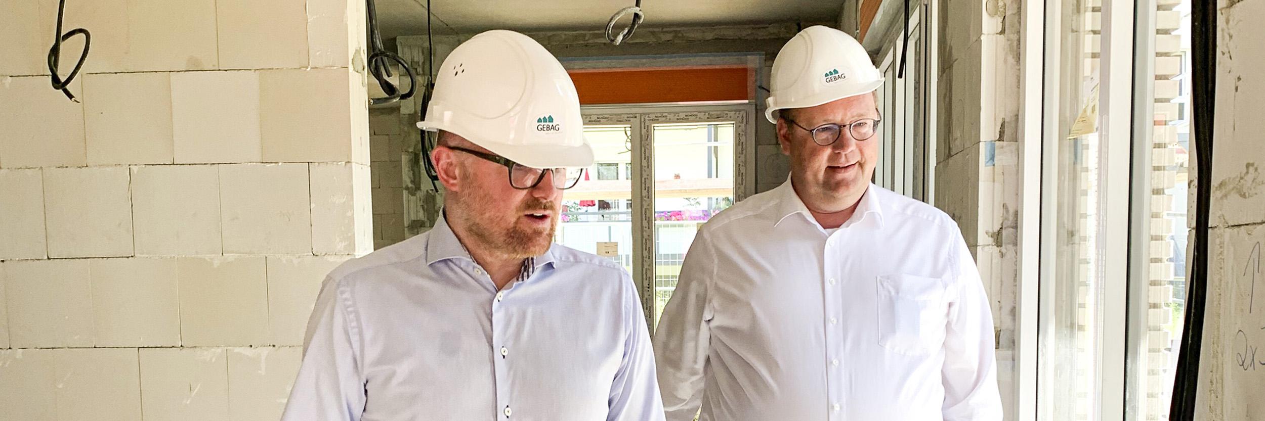 Fertigstellung Rohbau Grabenstraße