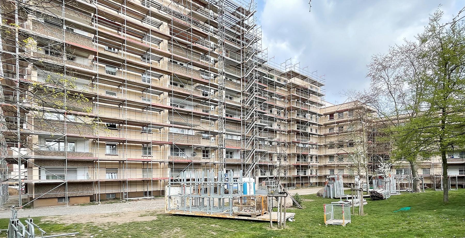 Baustart im Citywohnpark
